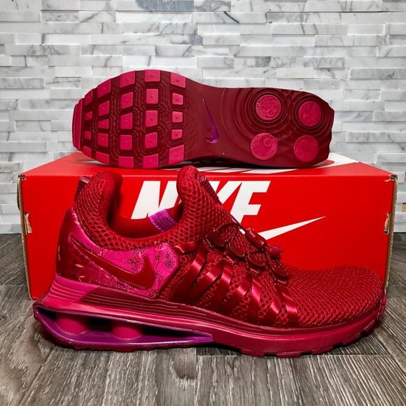 6e316ebf78c Nike Air Shox Gravity Wild Cherry Womens Sneakers